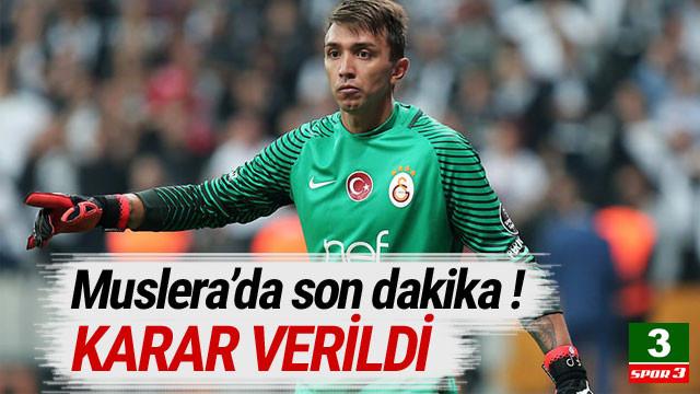 Galatasaray'dan flaş Muslera kararı !