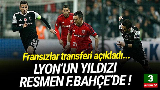 Lyon'un yıldızı resmen Fenerbahçe'de !