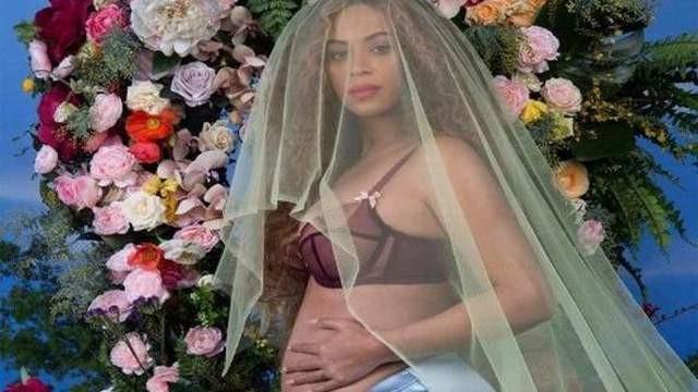 Bu gelinlikli hamile pozu internetin rekorunu kırdı