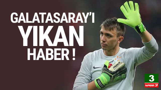 Galatasaray'ı yıkan haber ! Muslera...