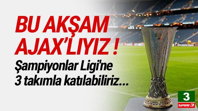 Şampiyonlar Ligi'ne 3 takımla katılabiliriz !