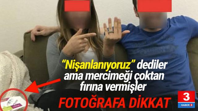 'Nİşanlanıyoruz' diyen çiftin foyasını fotoğraf ortaya çıkardı