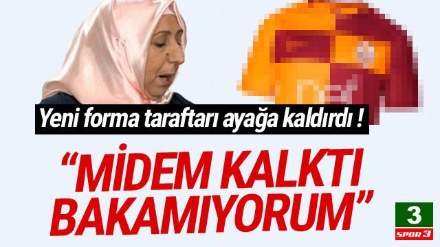 Galatasaray'ın yeni sezon formasına tepki yağdı