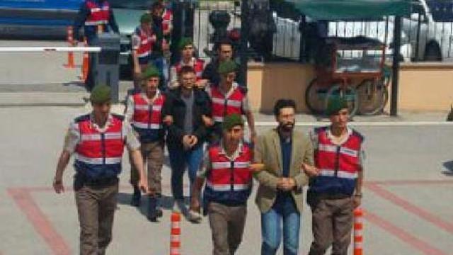 PKK şüphelisi FETÖ'cüleri kaçırırken yakalandı