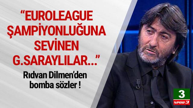 Rıdvan Dilmen'den olay sözler !