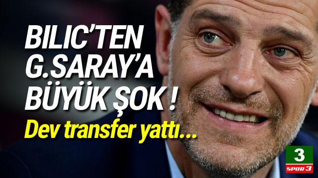 Galatasaray'a transferde büyük şok !