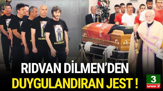 Rıdvan Dilmen'den duygulandıran jest