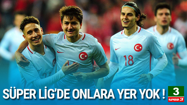 Süper Lig'de gençlere yer yok !