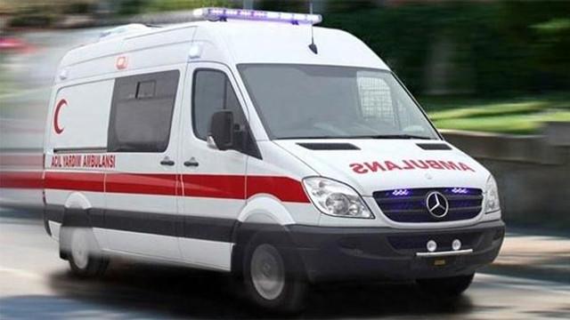Polis aracı devrildi: 2 polis yaralı