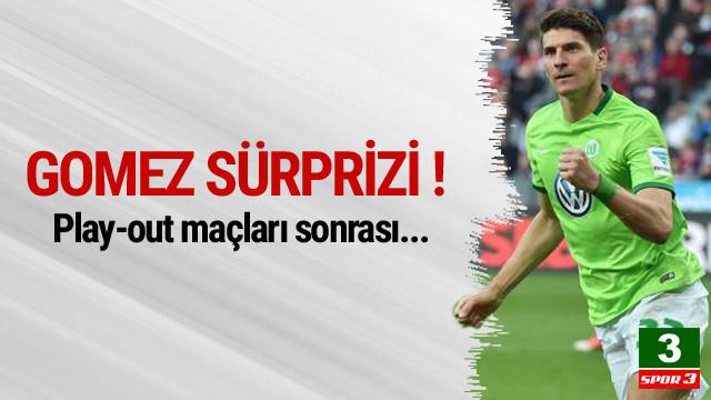 Beşiktaş'ta Gomez sürprizi