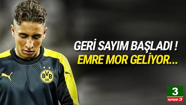 Emre Mor geliyor Süper Lig'e geliyor...