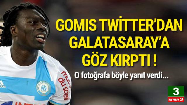 Gomis'ten Twitter'da imalı paylaşım