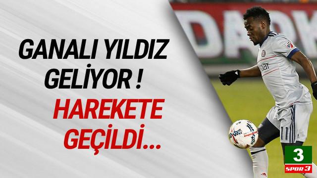 Sola Accam Trabzonspor'a geliyor
