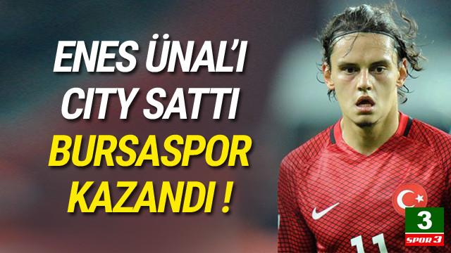 Enes Ünal transferi Bursaspor'a yaradı !