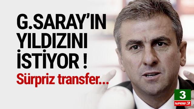 Hamza Hamzaoğlu Galatasaraylı yıldızın peşinde