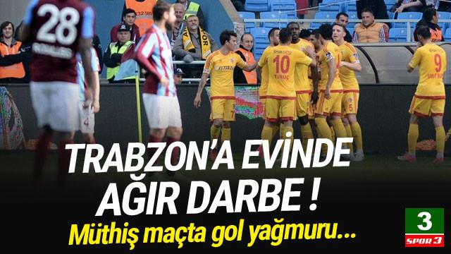 Trabzonspor'a evinde ağır darbe !