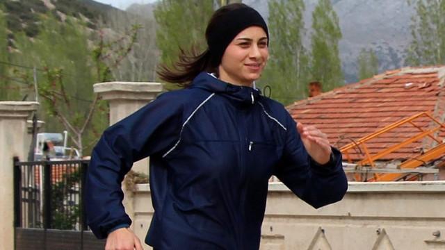 Balkan şampiyonu köyünde antrenman yapıyor