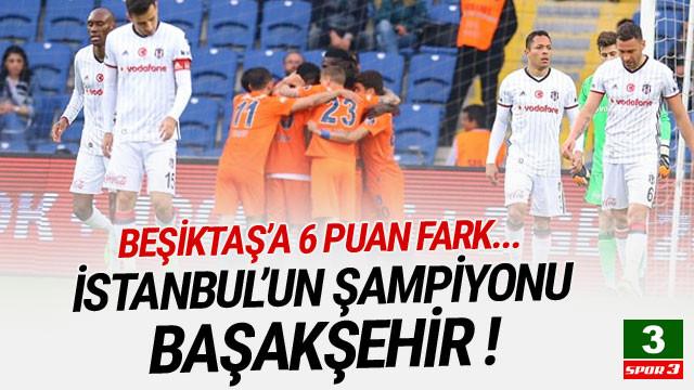 Başakşehir'den Beşiktaş'a 6 puan fark