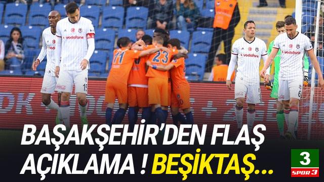 Başakşehir'den flaş açıklama ! Beşiktaş...