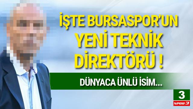 Dünyaca ünlü isim Bursaspor'da !