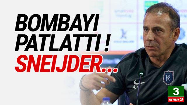 Abdullah Avcı'dan bomba açıklama: ''Wesley Sneijder...''