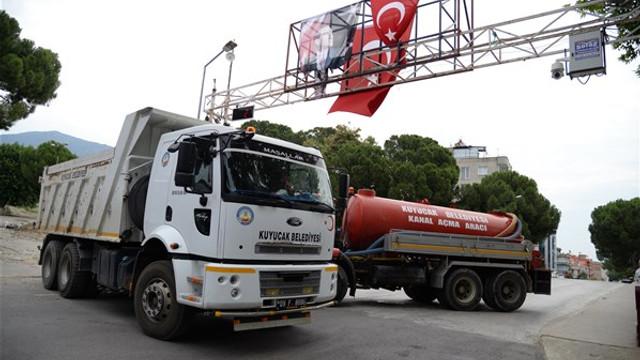 Kuyucak'ta Atatürk yazılı takı krizi
