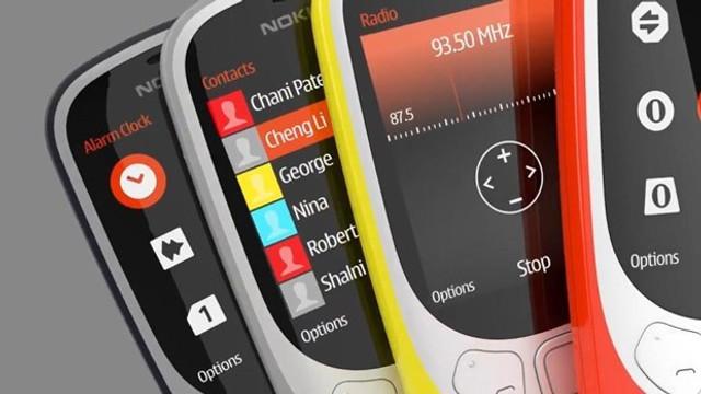 Yenilenen Nokia 3310 Türkiye'de... Satışı başlıyor...