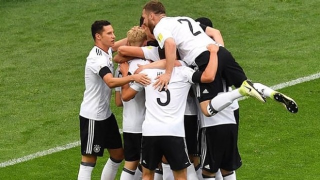 Gol düellosu Almanya'nın !
