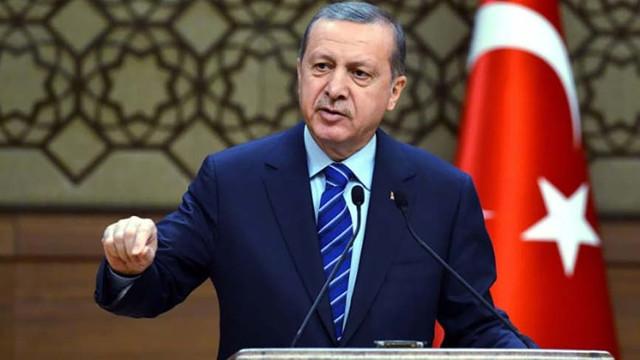 Erdoğan: ''levhalar bile utanır bunlardan''