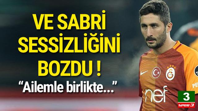 Sabri'den transfer açıklaması