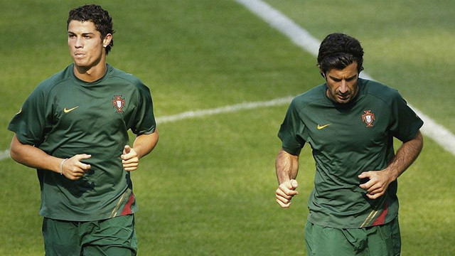 Figo'dan şok Ronaldo yorumu