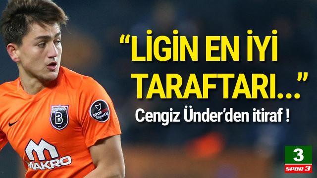 Cengiz Ünder'den Beşiktaş taraftarına övgü