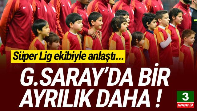Galatasaray'dan Süper Lig ekibine gitti