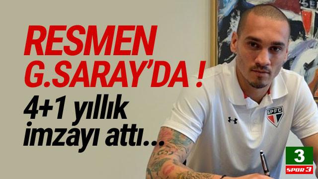 Maicon resmen Galatasaray'da