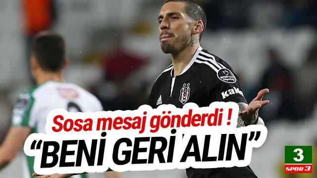 Jose Sosa Beşiktaş'a mesaj gönderdi
