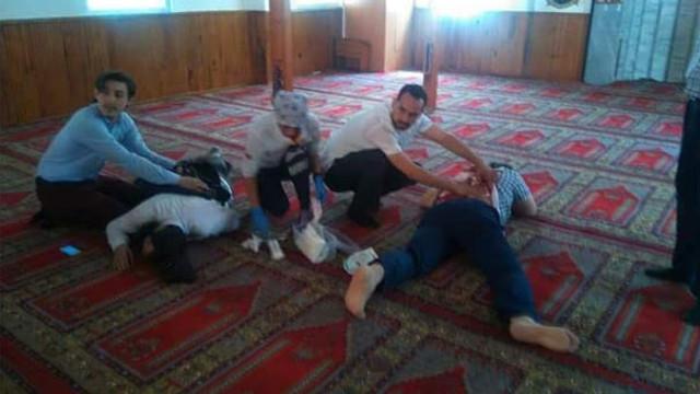 İstanbul'da bir camide dehşet !