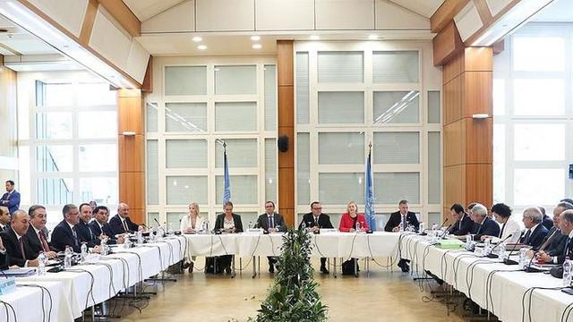 İsviçre'deki Kıbrıs Konferansı başladı