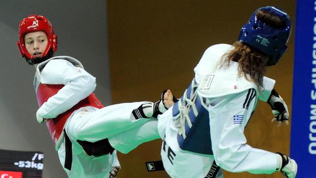 53 kiloda Zeliha Ağrıs Dünya Şampiyonu