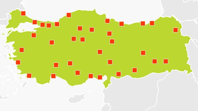 Bu haritaya dikkat ! 1 ayda 43 kişi boğuldu