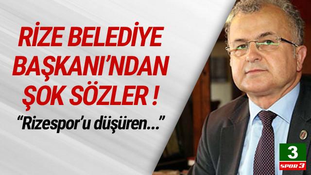 Rize Belediye Başkanı CHP'yi suçladı