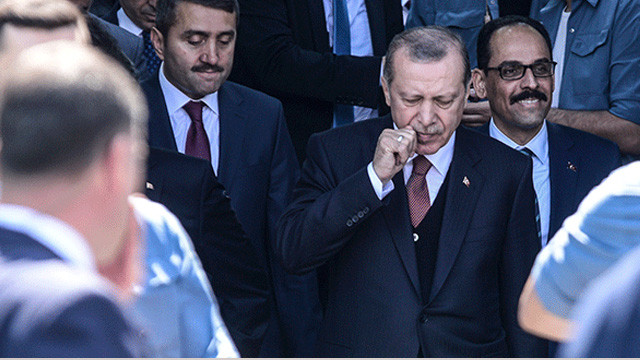 Cumhurbaşkanı Erdoğan, Topkapı Sarayı'nda