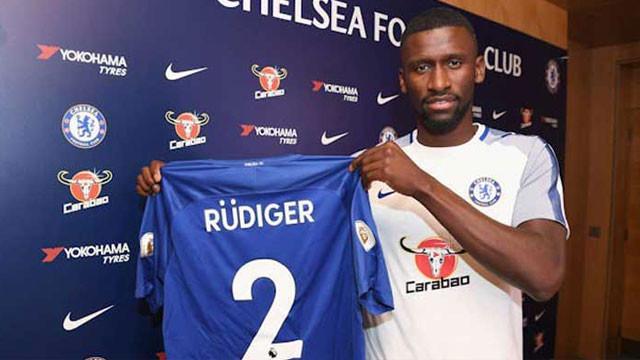 Chelsea Antonio Rudiger'i transfer etti