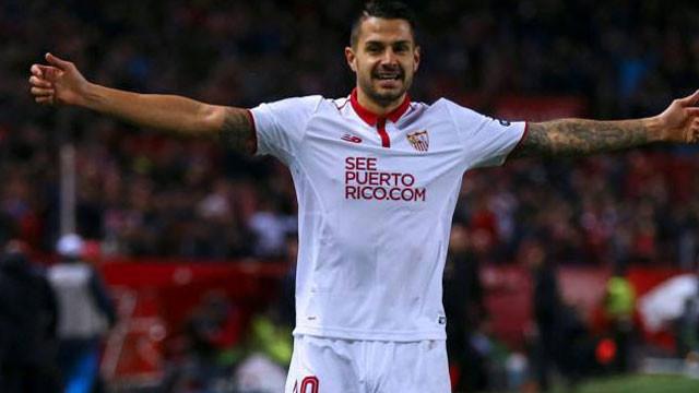 Vitolo 2022 yılına kadar Sevilla'da