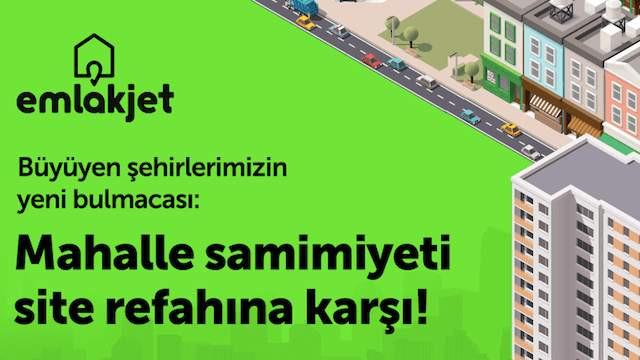 Mahalle samimiyeti, site refahına karşı