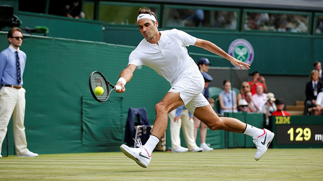 Wimbledon'da şampiyon Roger Federer