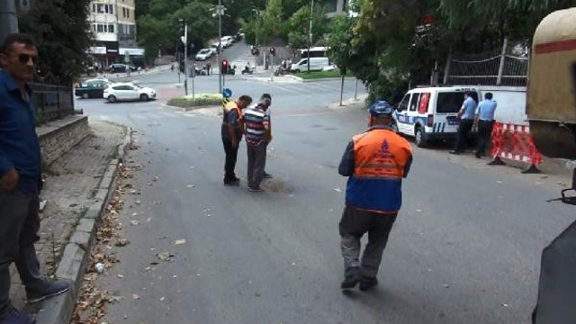 Beşiktaş'ta bomba alarmı ! Yol kapatıldı