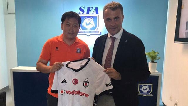 ''Beşiktaş Çin'de büyük yankı uyandırdı''
