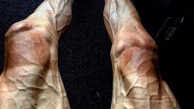 Poljanski'nin bacakları sosyal medyayı salladı