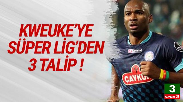 Leonard Kweuke'ye Süper Lig'de üç talip !