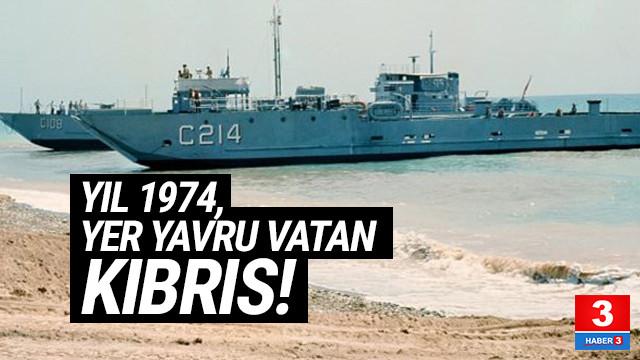 45. yıldönümünde Kıbrıs Barış Harekatı'ndan ilk kez göreceğiniz kareler